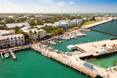 Mallory Square in Key West, Florida stock image