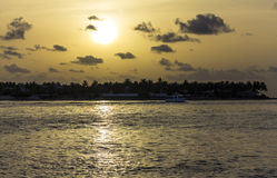 Mallory Square Sunset on Key West, Florida Stock Image