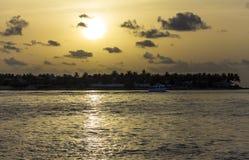 Mallory Square Sunset på Key West, Florida Fotografering för Bildbyråer