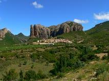 Mallos De Aguero, Huesca (Hiszpania) Obrazy Royalty Free