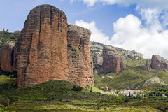 Mallos de Riglos. Aragón Royalty Free Stock Photography