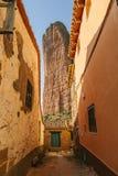 Mallos de Riglos in Huesca, Aragon. Spain Royalty Free Stock Photos