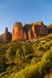 Mallos de Riglos in Huesca, Aragon Royalty Free Stock Photos