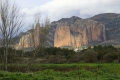 Mallos de Riglos (Huesca) Stock Image
