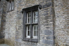 Mallow Castle in Mallow County Cork Ireland. A clos-up of a window at Mallow Castle in Mallow County Cork Ireland royalty free stock photography