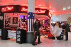 Mallrestaurant Lizenzfreies Stockbild