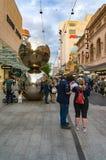 Malls Balls at Rundle mall. Adelaide, Australia - November 10, 2017: Malls Balls at Rundle mall Royalty Free Stock Photos