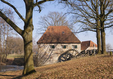 The Mallumsche watermill. Near Eibergen in the Dutch region Achterhoek Stock Image