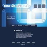 mallvektorwebsite Arkivbild