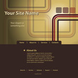 mallvektorwebsite Arkivbilder