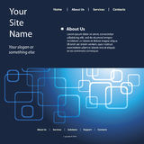 mallvektorwebsite Royaltyfria Bilder