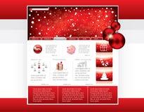 mallwebsite Arkivbild