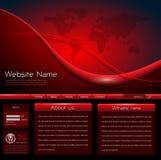mallwebsite Arkivfoto