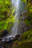 Mallyan Spout waterfall at Goathland,England. Mallyan Spout Waterfall / Mallyan Spout waterfall at Goathland in the North York Moors National Park flows into Royalty Free Stock Photo