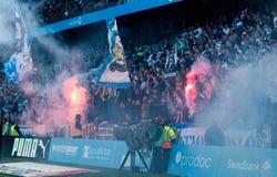 Malmö FF против IFK Göteborg стоковые изображения