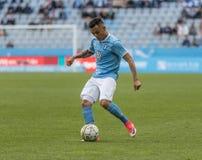 Malmö FF contro IFK Norrköping fotografie stock libere da diritti