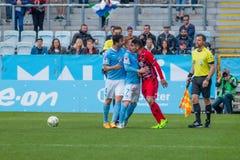 Malmöff versus à -ã-stersuns FK Royalty-vrije Stock Foto
