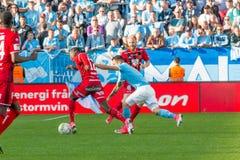 Malmö FF vs Östersuns FK. Fotball / Soccer game between Malmö FF MFF and Östersuns FK 14th may 2017 Stock Image