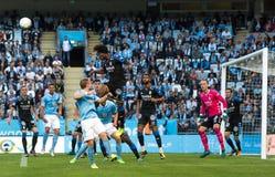 Malmö FF vs IFK Göteborg. Allsvenskan game 2017-08-27 in Malm Stock Image