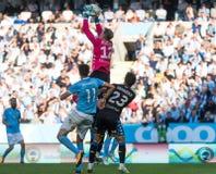 Malmö FF vs IFK Göteborg. Allsvenskan game 2017-08-27 in Malm Stock Photo