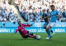 Malmö FF vs IFK Göteborg Stock Photography