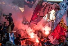 Malmö FF vs IFK Göteborg. Allsvenskan game 2017-08-27 in Malm Stock Photos