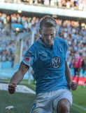 Malmö FF vs IFK Göteborg. Allsvenskan game 2017-08-27 in Malm Royalty Free Stock Photos