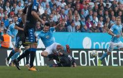 Malmö FF vs IFK Göteborg. Allsvenskan game 2017-08-27 in Malm Stock Photography
