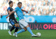 Malmö FF vs IFK Göteborg. Allsvenskan game 2017-08-27 in Malm Royalty Free Stock Images