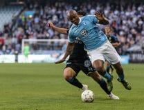 Malmö FF vs IFK Göteborg Royalty Free Stock Photo