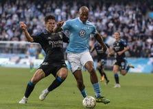 Malmö FF vs IFK Göteborg Royalty Free Stock Images
