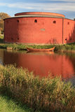 Malmö, Fortress. Malmö Castle in Southern Sweden at late afternoon Royalty Free Stock Photo
