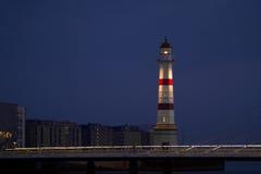 Malmö-Leuchtturm Stockfoto
