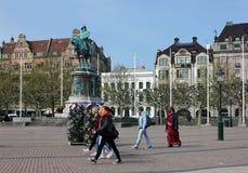 Malmö. Zentraler Platz. Stockbilder