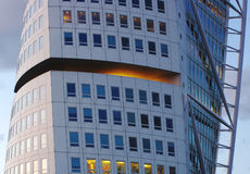 Malmö-Kontrollturmgetreide Lizenzfreies Stockfoto