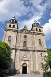 Malmedy-Kathedrale Stockfotos