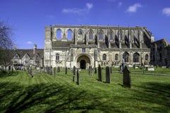 Malmesbury-Abtei Stockbilder