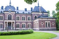Malmgard, Finland. The Manor House. At summer Stock Images
