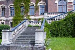 Malmgard, Finland. The Manor House. At summer Stock Photo