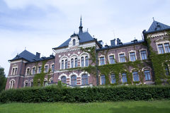 Malmgard, Finland. The Manor House. At summer Royalty Free Stock Images