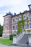 Malmgard, Finland. The Manor House. At summer Stock Photography