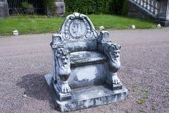 Malmgard, Finland. Throne at the Manor House. At summer Royalty Free Stock Photos