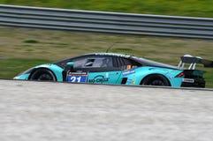 12 malmHankook Mugello 18 mars 2017: #21 Konrad Motorsport, Lamborghini Huracan GT3 Royaltyfria Foton