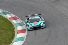 12 malmHankook Mugello 18 mars 2017: #21 Konrad Motorsport, Lamborghini Huracan GT3 Arkivbild