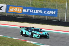 12 malmHankook Mugello 18 mars 2017: #21 Konrad Motorsport, Lamborghini Huracan GT3 Royaltyfri Bild