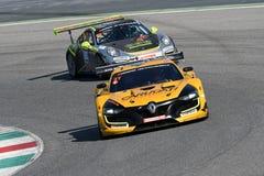 12 malmHankook Mugello 18 mars 2017: Ytterlighet för GP #27, Renault RS01 GT3 Arkivbild