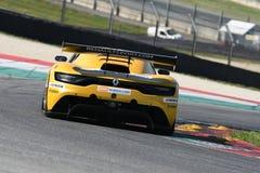 12 malmHankook Mugello 18 mars 2017: Ytterlighet för GP #27, Renault RS01 GT3 Royaltyfria Bilder