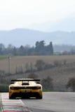 12 malmHankook Mugello 18 mars 2017: Ytterlighet för GP #27, Renault RS01 GT3 Royaltyfri Fotografi
