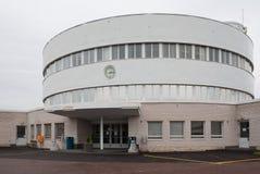 Malmi terminal in Helsinki Royalty Free Stock Photos