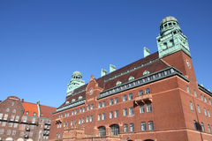 Malmo. Sweden - the main Post Office. City in Scania county (Skane in Swedish) and Oresund region Stock Photo